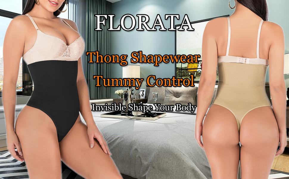Thong Shapewear Tummy Control Panties Body Shaper for Women