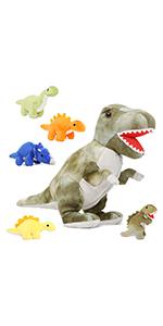 dinosaur stuffed animal