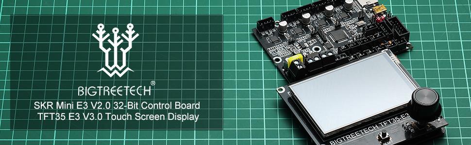 BIGTREETECH SKR Mini E3 V2.0 & TFT35 E3 V3.0 Touch Screen Banner