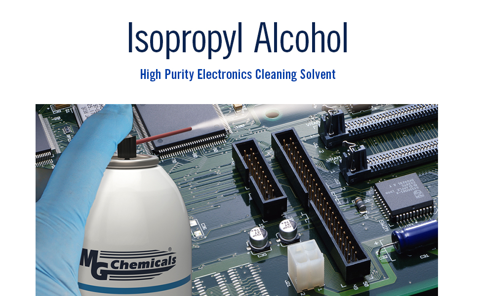 Isopropyl Alcohol high purity electronics cleaning solvent