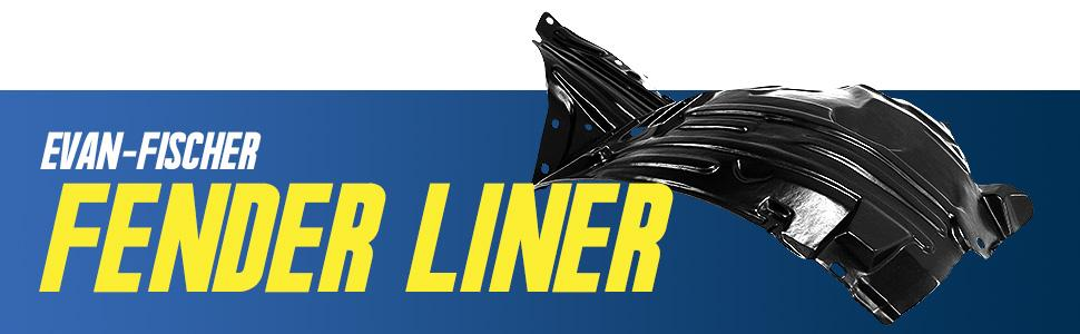 aftermarket replacement fender liner