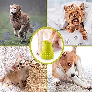 Tragbarer Haustier Pfotenreiniger