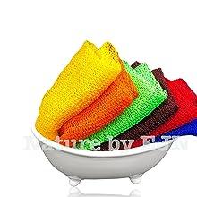 net bath sponge, smooth, skin, good, clean, ghana, fishing net bath sponge