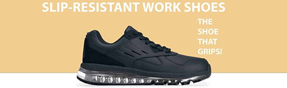 Slip resistant work shoes the shoe that grips Geo