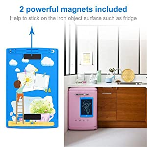 2 magnets