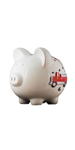 Large Train Piggy Bank