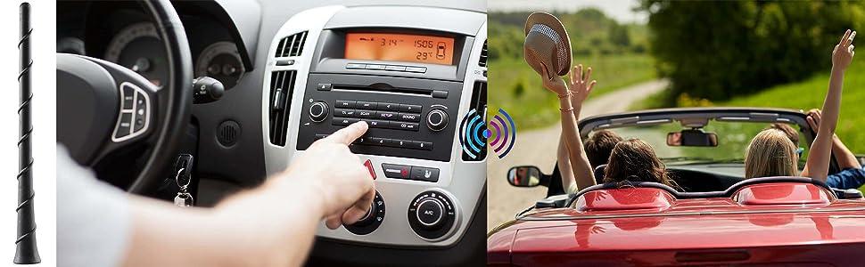 antenna for car radio fm am