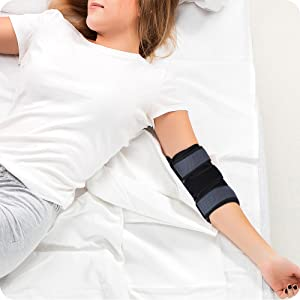 Neoprene Elbow Support with Dual-Spring