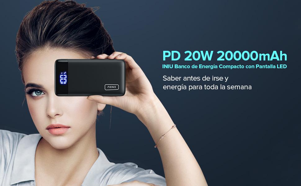 PD 20W 20000mAh