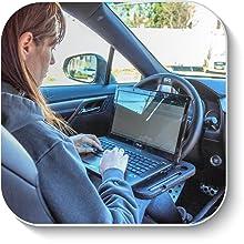 EcoNour Steering Wheel Desk Tray Portable Wheelmate laptop working