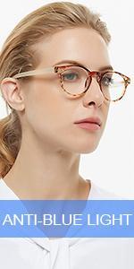 OCCI CHIARI Lightweight Designer Plastic frame Stylish Reading Glasses For Women(Yellow,1.0)