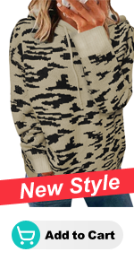 Leopard Sweater Hoodies