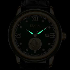 Date WindoDate Window Display Luminous Watchw Display Luminous Watch
