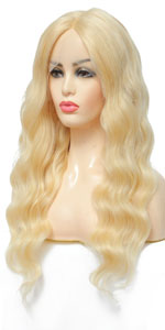 613 Blonde Body Wave Lace Front Wig Human Hair 613 Human Hair Wigs Lace Front 613 Lace Front Wigs
