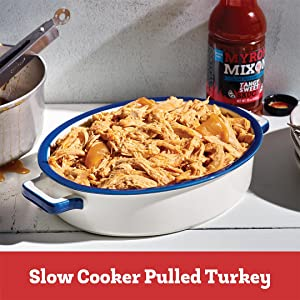Slow Cooker Pulled Turkey