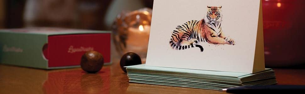 Tiger Thank You Cards
