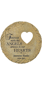 Forever with Angels Memorial Stone