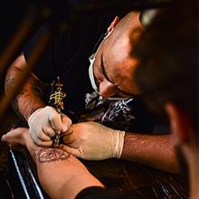 tattoo stool