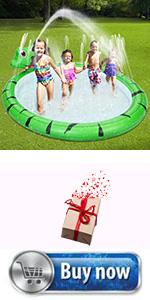 InflatabInflatable Sprinkler Poolle Sprinkler Pool