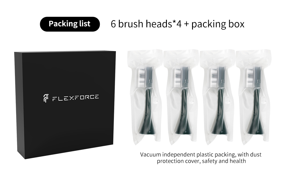 Electric toothbrush replacement head packaging method