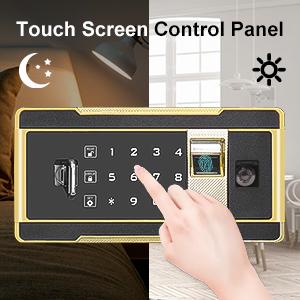 safe safe box small safe fingerprint safe
