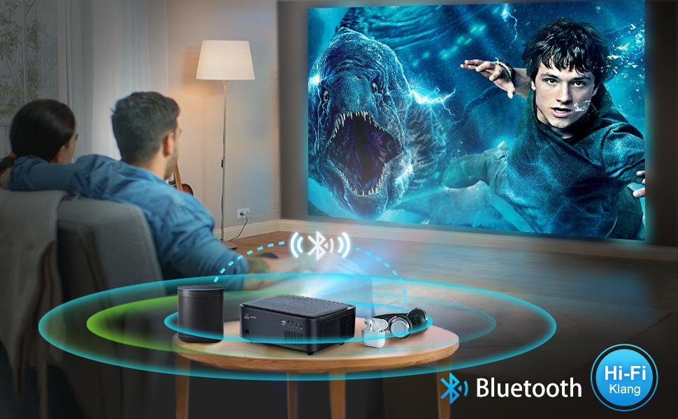 5G wifi bluetooth projector