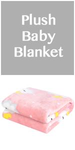 micro fleece plush baby blanket