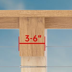 适配不同的木桩角度