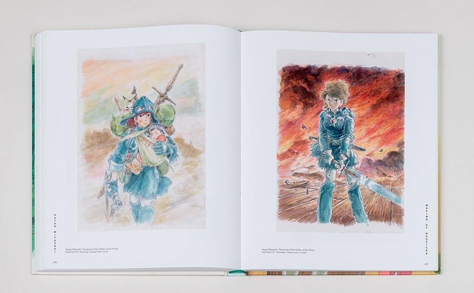 Pages from Hayo Miyzazaki