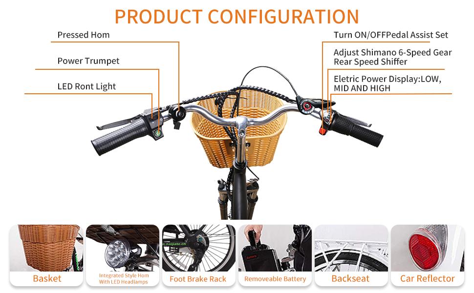 Electric bikes Part Detail