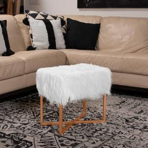 ottoman, tufted ottoman, leg stool, seating, living room decor, rectangular ottoman