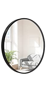 18 Inch Round Wall Mirror