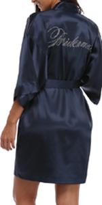 womens bridal robes