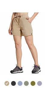 BALEAF 5'' Hiking Shorts for women