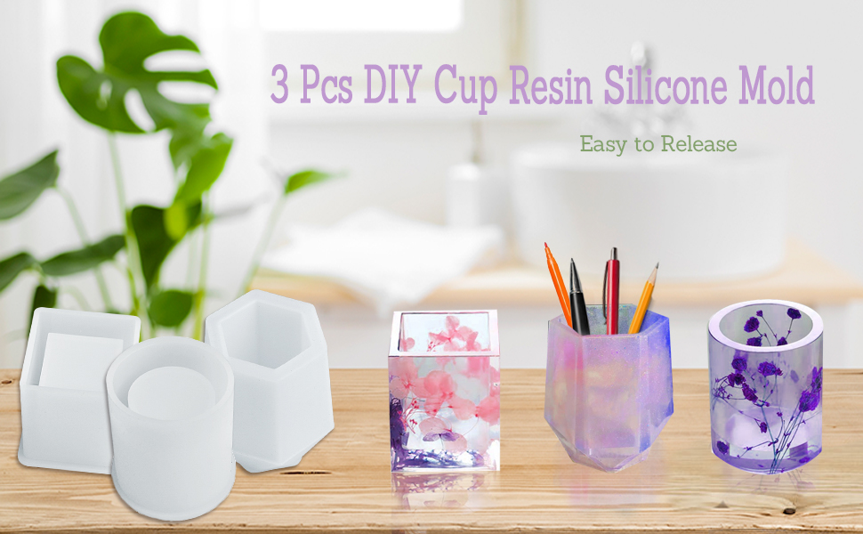 cup resin mold