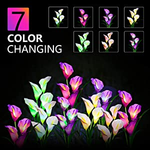 7 color changing
