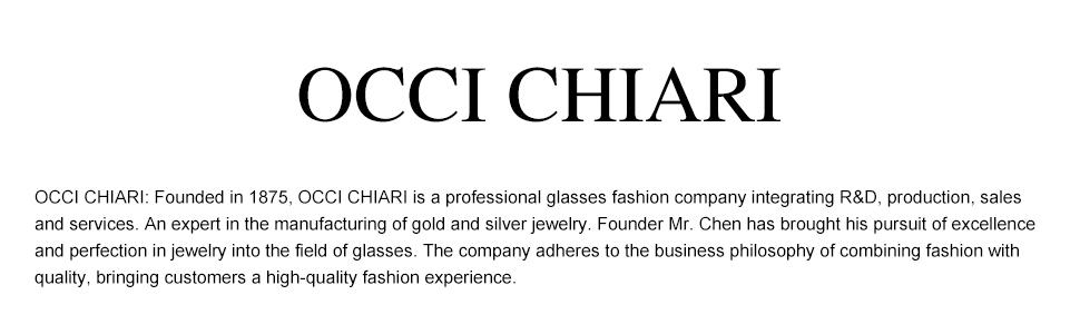 OCCI CHIARI READING GLASSES