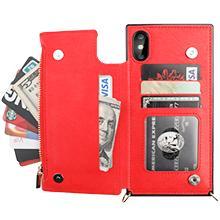 Zippered Crossbody Wallet Case