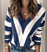 sexy v neck sweaters for women