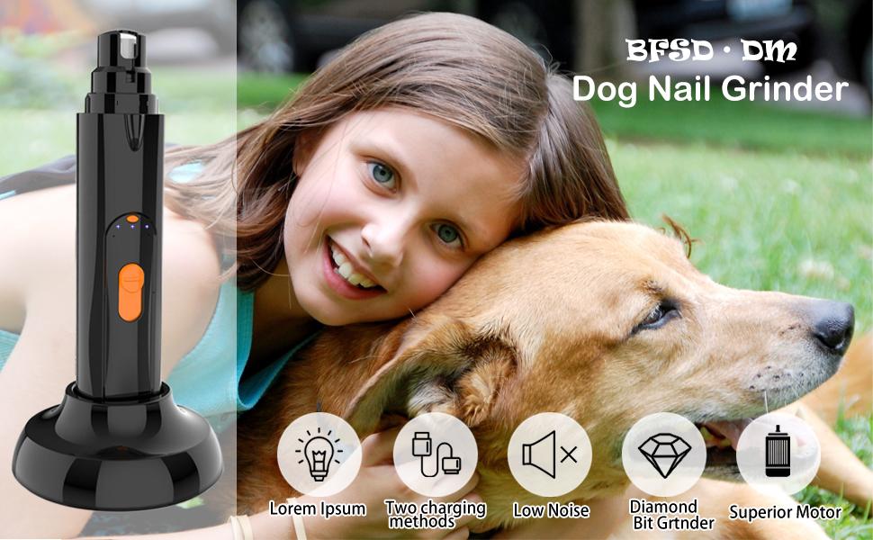 Led dog nail trimmer