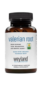 Made with Organic Valerian Root