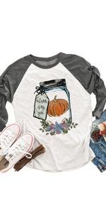 Pumpkin Bottle Thanksgiving T-Shirt