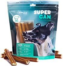 6-inch Standard Bully Sticks for Dogs Supercan odor free sancho and lola best bully sticks chews