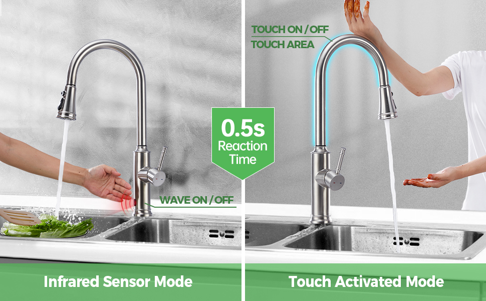 kitchen faucet funtion