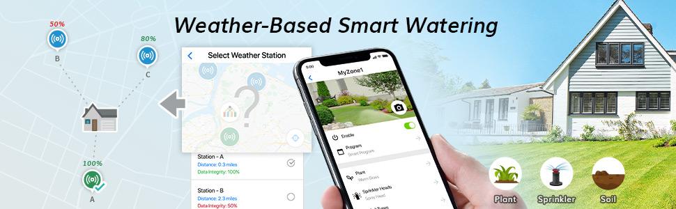 Weather Based Smart Watering