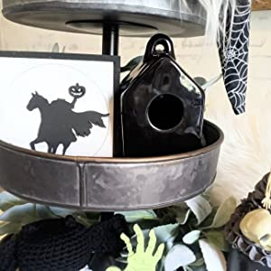 Mini Black Birdhouse