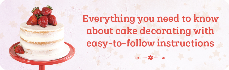 cake decorating, cake decorating books for beginners, cake, cake cookbook