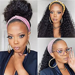 deep wave human hair wigs for black woman