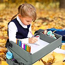 Lil Tots Gear Travel Tray Outdoors