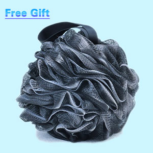 free loofah bath accessory